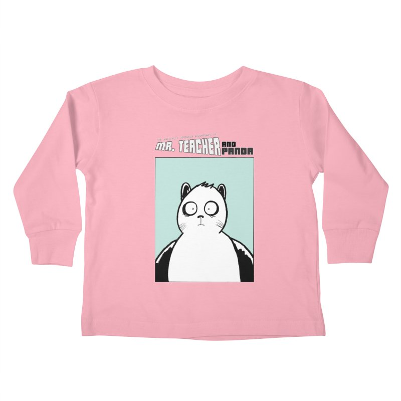 Panda Panda Panda Kids Toddler Longsleeve T-Shirt by Mr. Teacher and Panda Merchandise