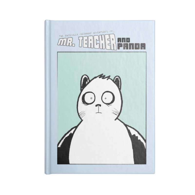 Panda Panda Panda Accessories Blank Journal Notebook by Mr. Teacher and Panda Merchandise