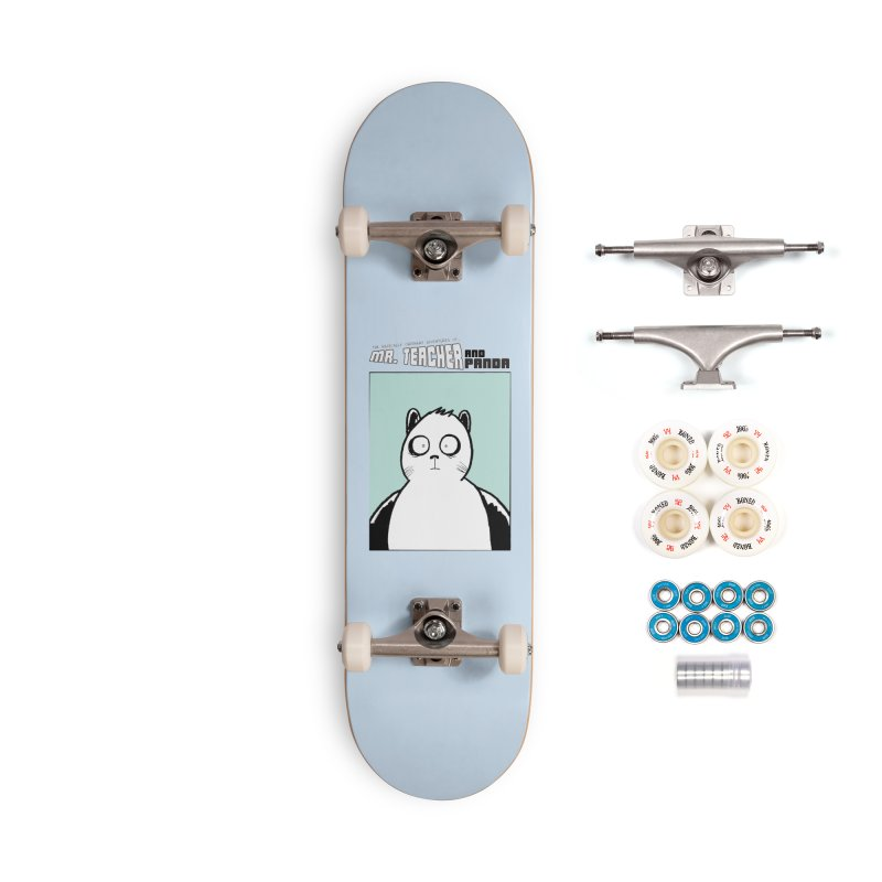 Panda Panda Panda Accessories Complete - Premium Skateboard by Mr. Teacher and Panda Merchandise