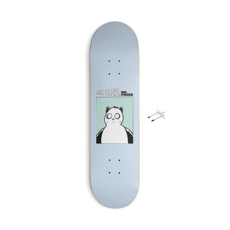 Panda Panda Panda Accessories With Hanging Hardware Skateboard by Mr. Teacher and Panda Merchandise