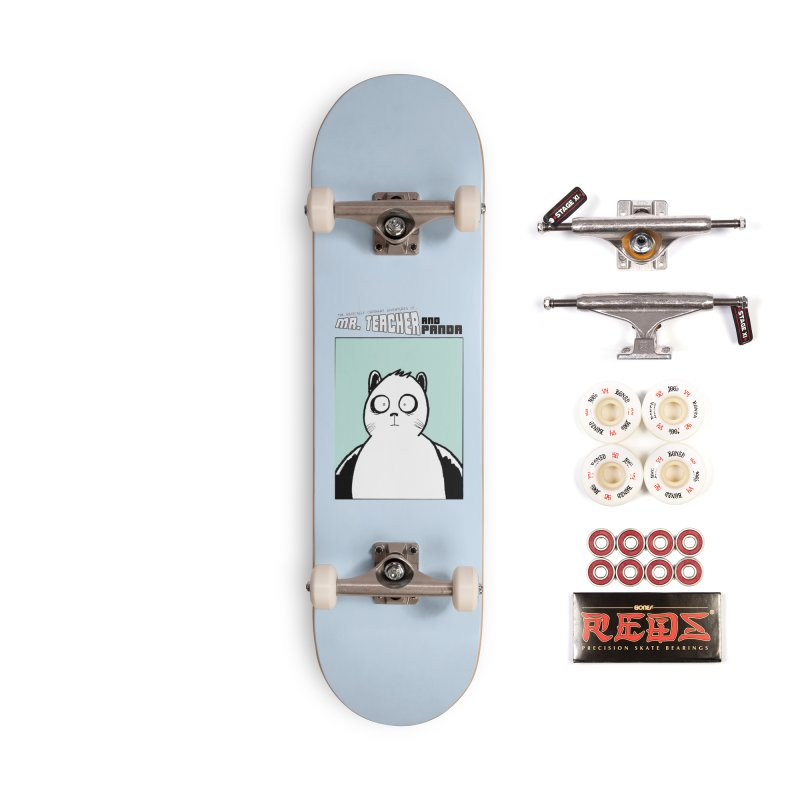 Panda Panda Panda Accessories Complete - Pro Skateboard by Mr. Teacher and Panda Merchandise