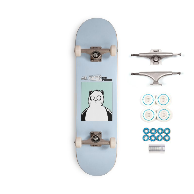 Panda Panda Panda Accessories Complete - Basic Skateboard by Mr. Teacher and Panda Merchandise