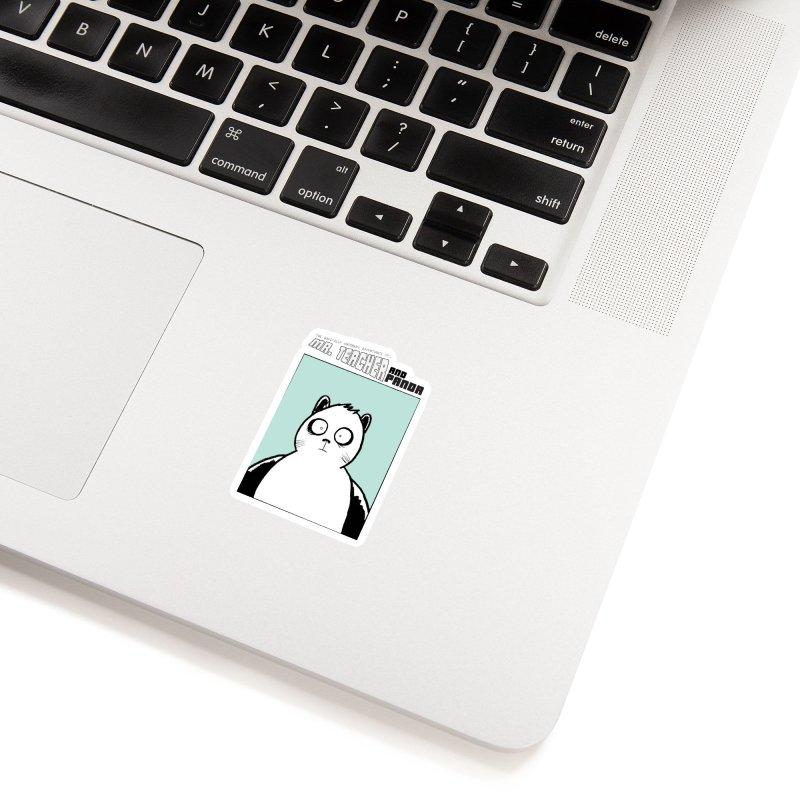 Panda Panda Panda Accessories Sticker by Mr. Teacher and Panda Merchandise