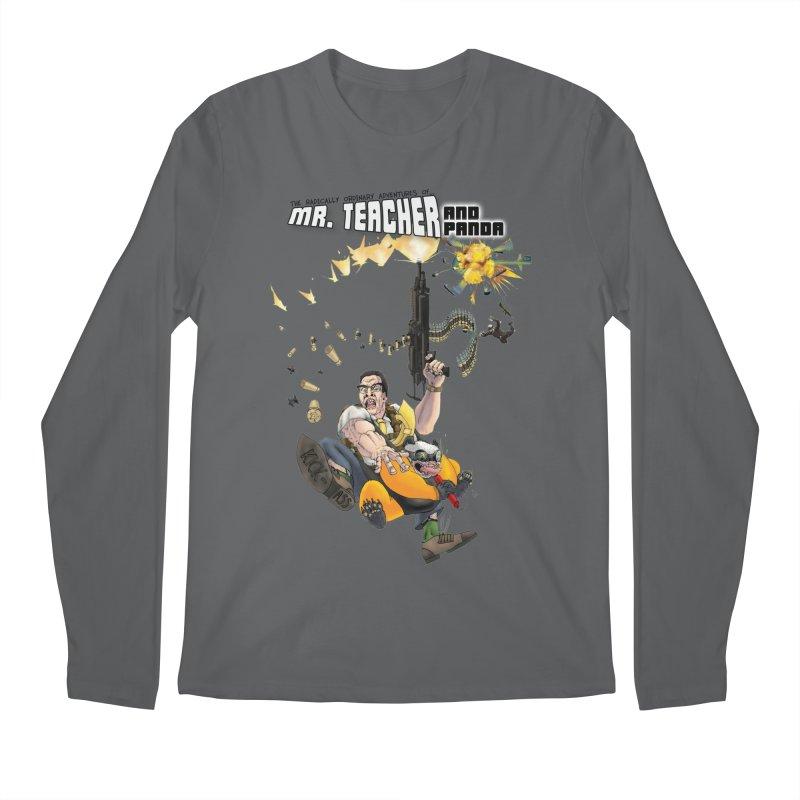 Mr. Teacher and Panda Men's Longsleeve T-Shirt by Mr. Teacher and Panda Merchandise
