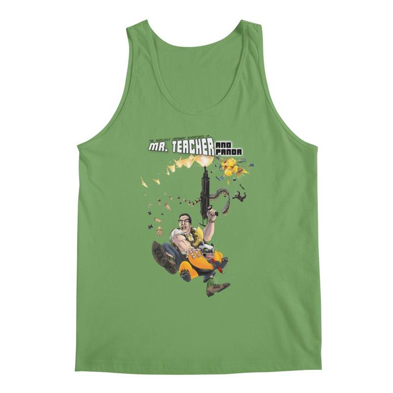 Mr. Teacher and Panda Men's Tank by Mr. Teacher and Panda Merchandise