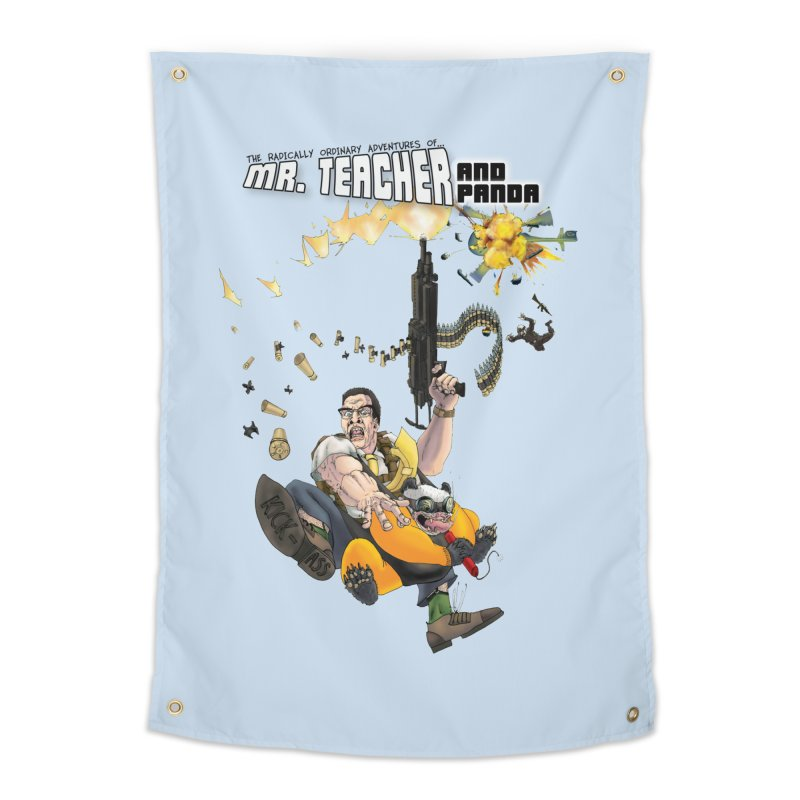 Mr. Teacher and Panda Home Tapestry by Mr. Teacher and Panda Merchandise