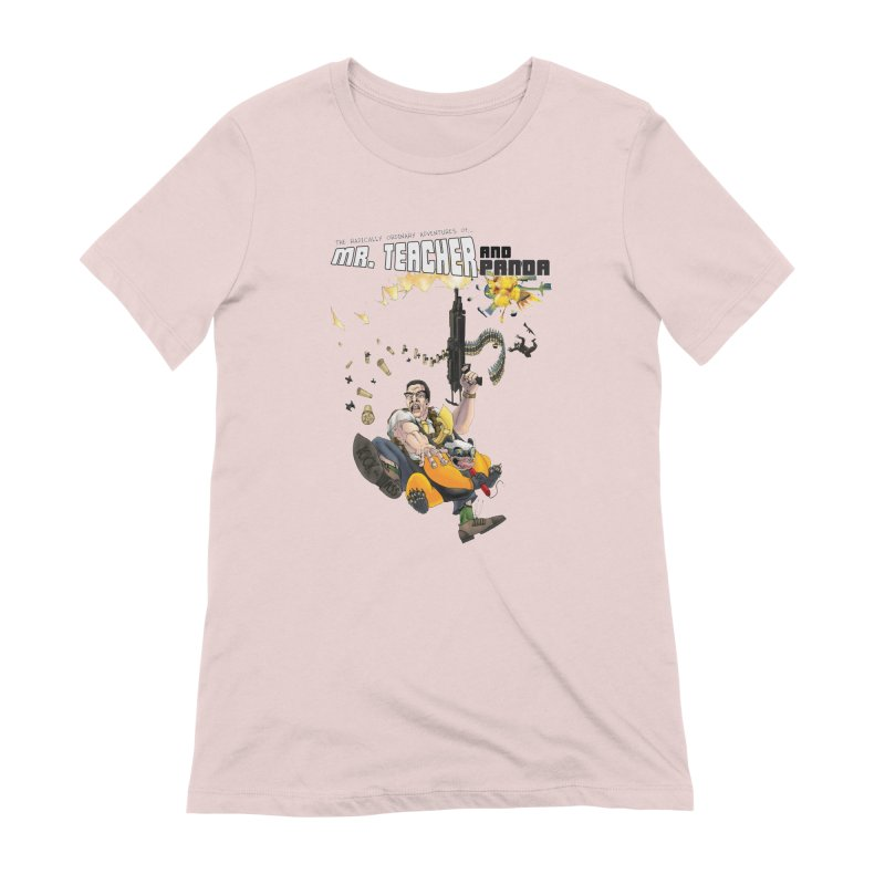 Mr. Teacher and Panda Women's Extra Soft T-Shirt by Mr. Teacher and Panda Merchandise