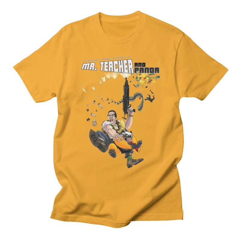 Mr. Teacher and Panda Women's Regular Unisex T-Shirt by Mr. Teacher and Panda Merchandise