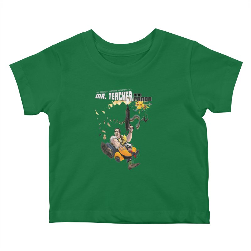 Mr. Teacher and Panda Kids Baby T-Shirt by Mr. Teacher and Panda Merchandise