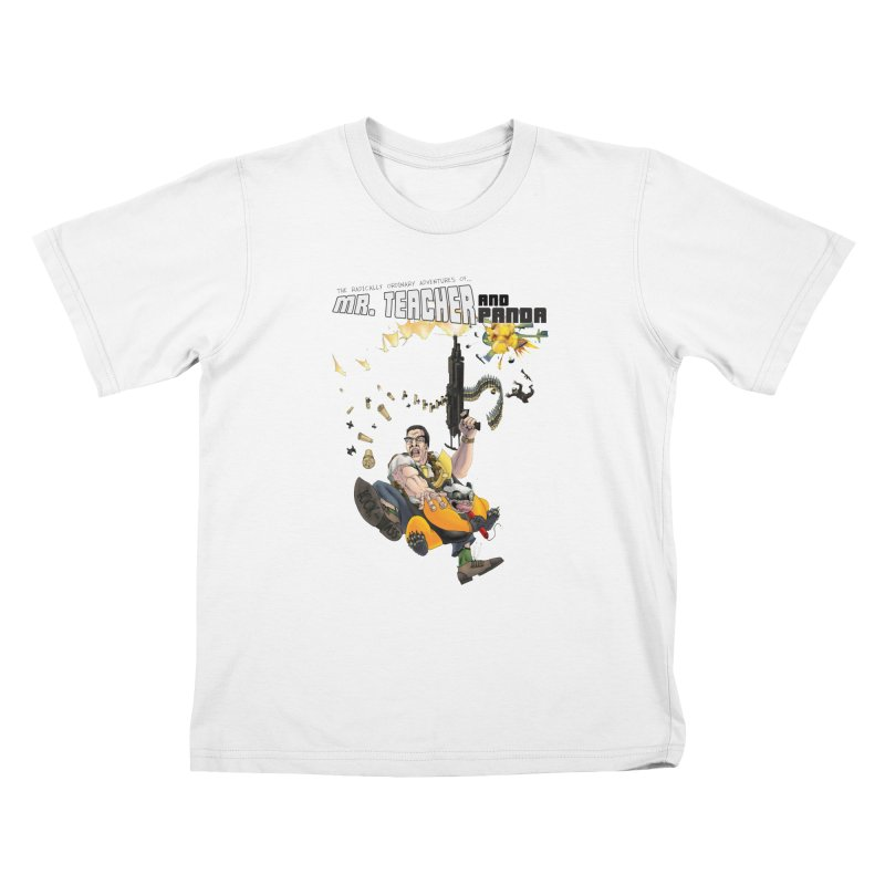 Mr. Teacher and Panda Kids T-Shirt by Mr. Teacher and Panda Merchandise