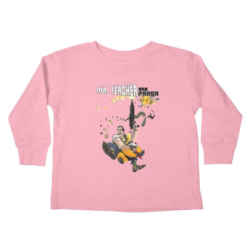 Mr. Teacher and Panda Kids Toddler Longsleeve T-Shirt by Mr. Teacher and Panda Merchandise