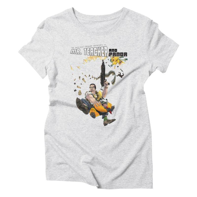 Mr. Teacher and Panda Women's T-Shirt by Mr. Teacher and Panda Merchandise