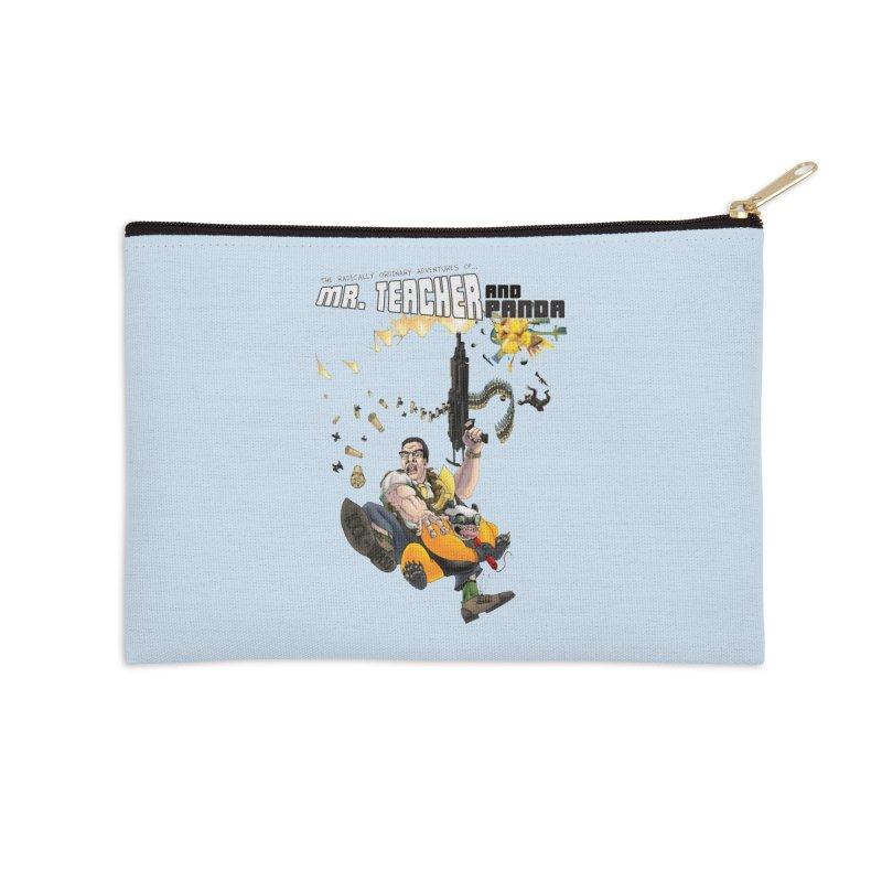 Mr. Teacher and Panda Accessories Zip Pouch by Mr. Teacher and Panda Merchandise