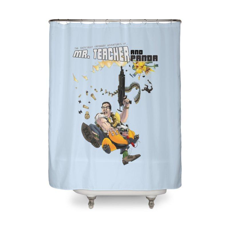 Mr. Teacher and Panda Home Shower Curtain by Mr. Teacher and Panda Merchandise