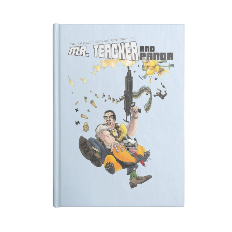 Mr. Teacher and Panda Accessories Blank Journal Notebook by Mr. Teacher and Panda Merchandise