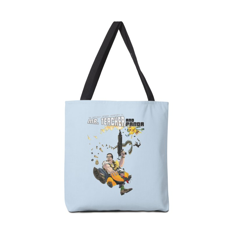 Mr. Teacher and Panda Accessories Tote Bag Bag by Mr. Teacher and Panda Merchandise