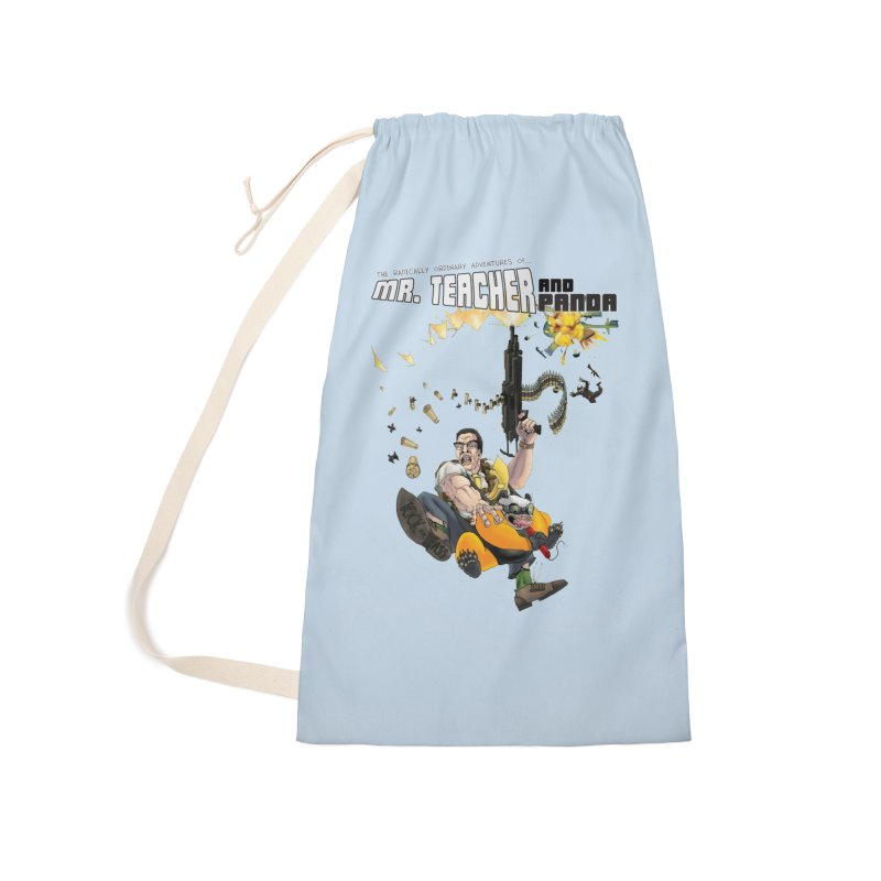 Mr. Teacher and Panda Accessories Laundry Bag Bag by Mr. Teacher and Panda Merchandise