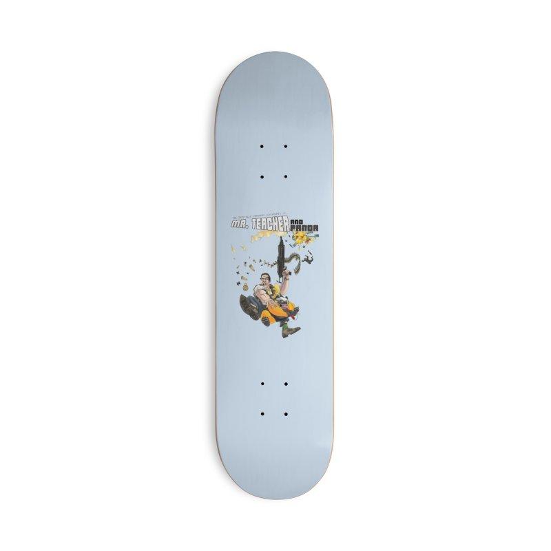 Mr. Teacher and Panda Accessories Deck Only Skateboard by Mr. Teacher and Panda Merchandise