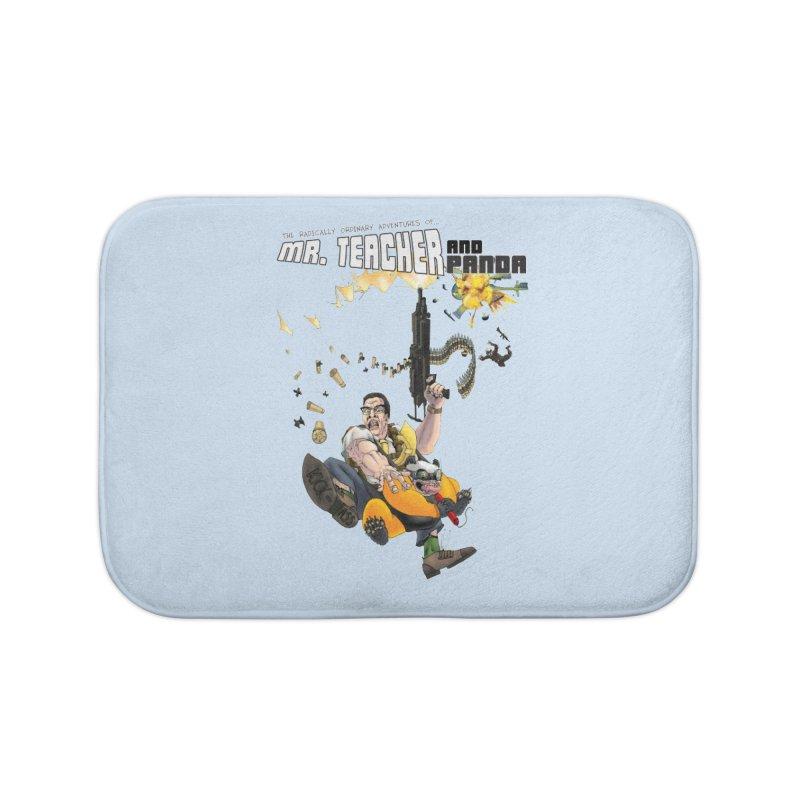 Mr. Teacher and Panda Home Bath Mat by Mr. Teacher and Panda Merchandise