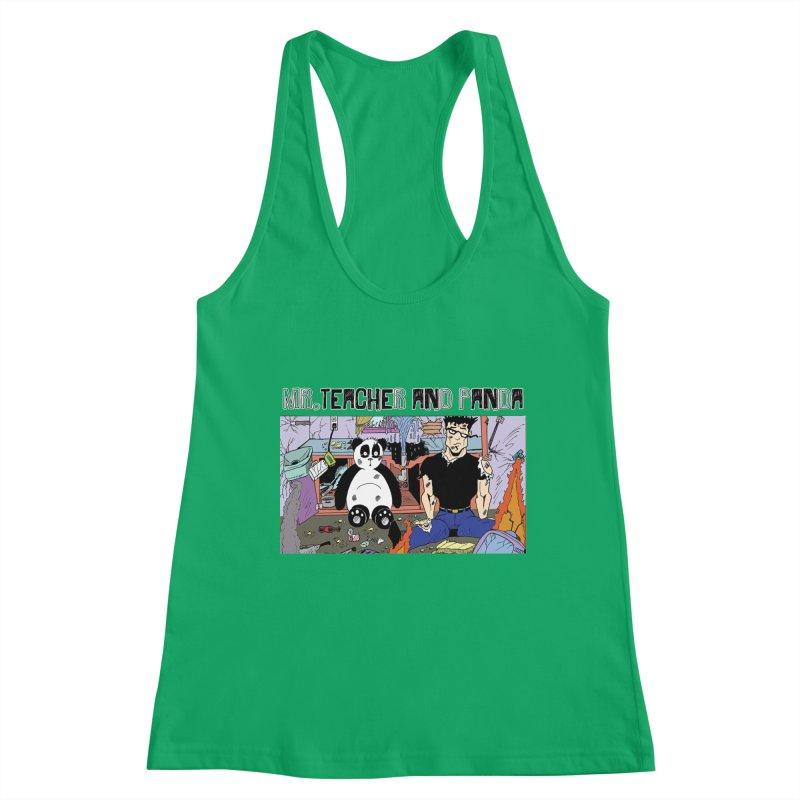 Garbage Disposal Women's Tank by Mr. Teacher and Panda Merchandise
