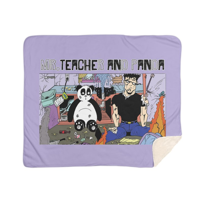 Garbage Disposal Home Blanket by Mr. Teacher and Panda Merchandise