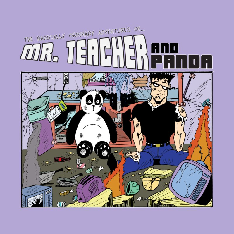 Garbage Disposal Men's T-Shirt by Mr. Teacher and Panda Merchandise