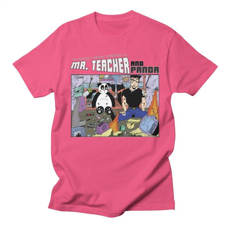Garbage Disposal Women's Regular Unisex T-Shirt by Mr. Teacher and Panda Merchandise