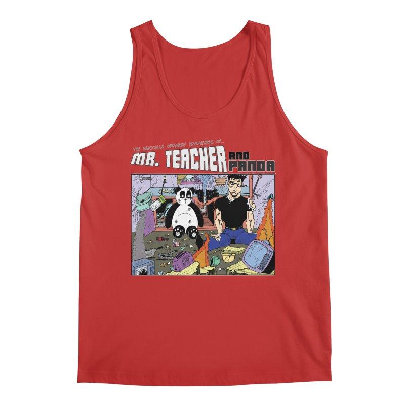 Garbage Disposal Men's Regular Tank by Mr. Teacher and Panda Merchandise