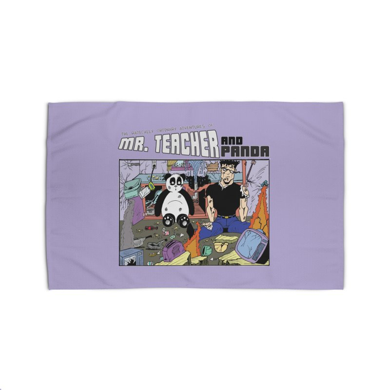 Garbage Disposal Home Rug by Mr. Teacher and Panda Merchandise