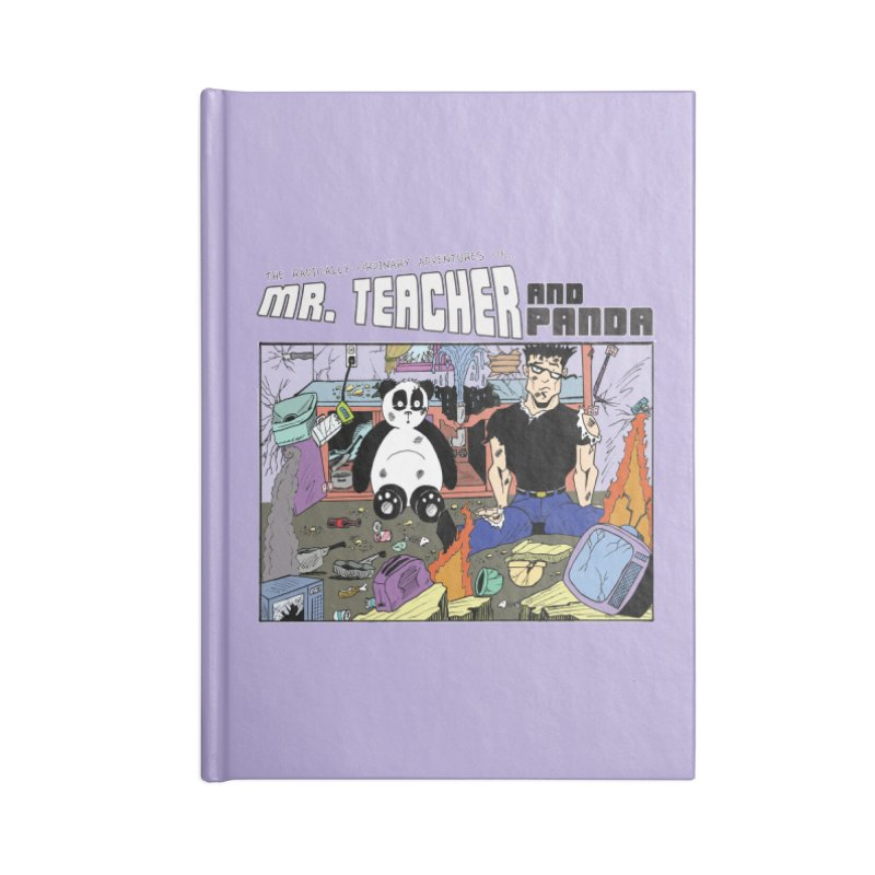 Garbage Disposal Accessories Lined Journal Notebook by Mr. Teacher and Panda Merchandise