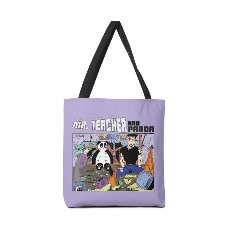 Garbage Disposal Accessories Tote Bag Bag by Mr. Teacher and Panda Merchandise