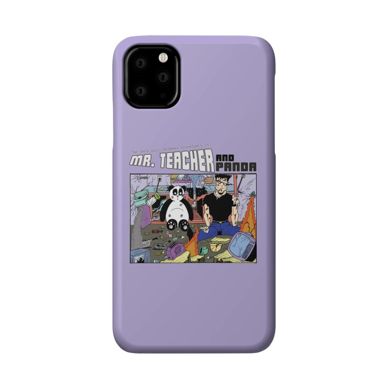 Garbage Disposal Accessories Phone Case by Mr. Teacher and Panda Merchandise