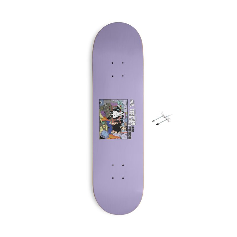 Garbage Disposal Accessories With Hanging Hardware Skateboard by Mr. Teacher and Panda Merchandise