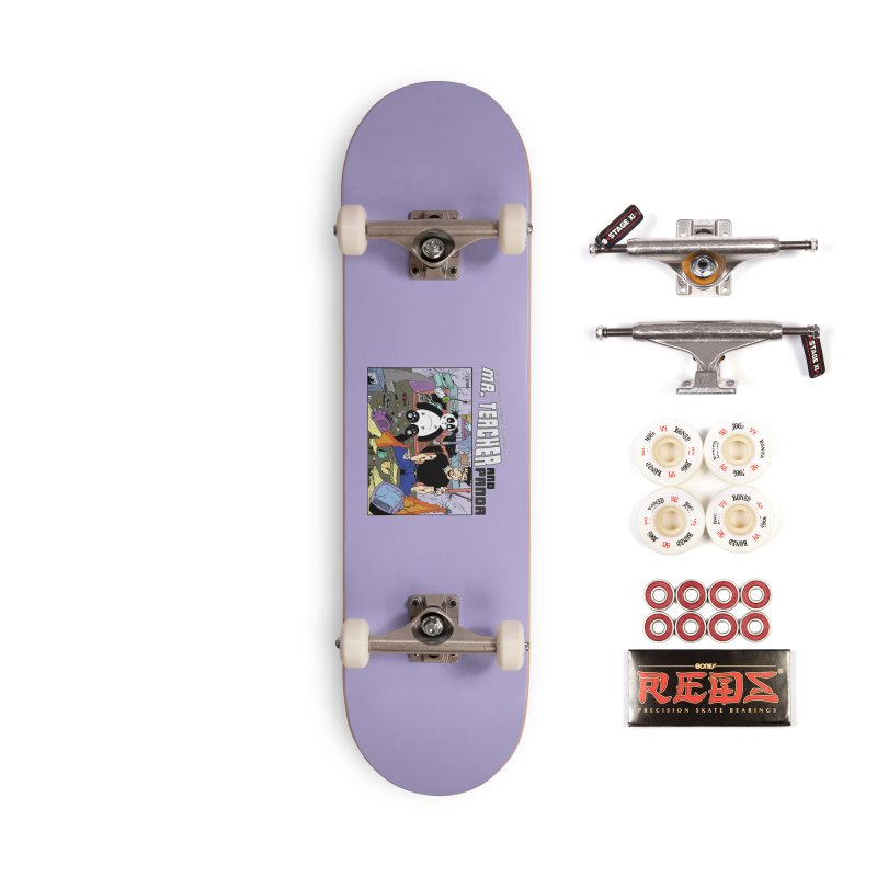 Garbage Disposal Accessories Complete - Pro Skateboard by Mr. Teacher and Panda Merchandise