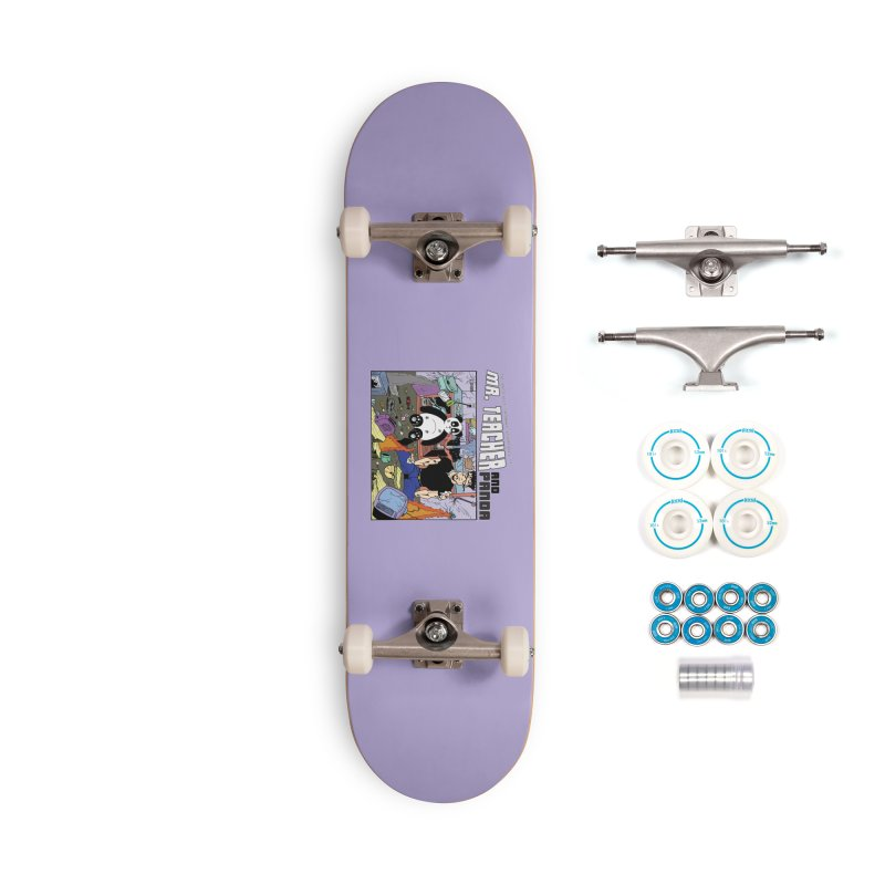 Garbage Disposal Accessories Complete - Basic Skateboard by Mr. Teacher and Panda Merchandise