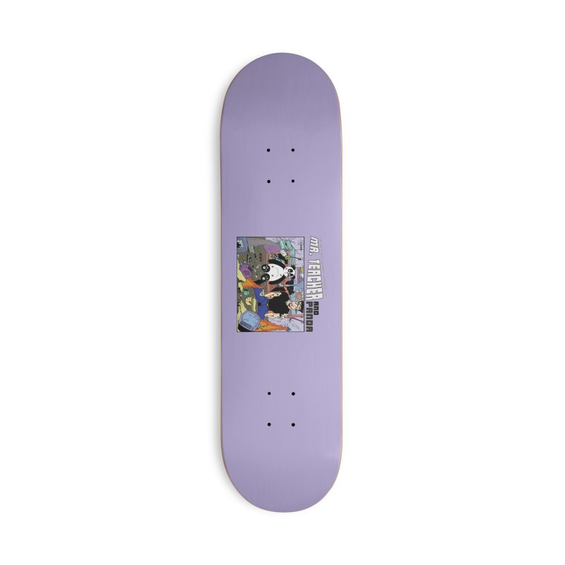 Garbage Disposal Accessories Deck Only Skateboard by Mr. Teacher and Panda Merchandise