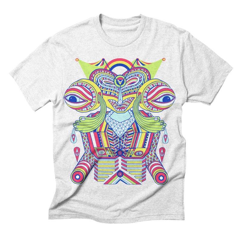 King me MAsk Men's Triblend T-shirt by mrwalrusface's Artist Shop