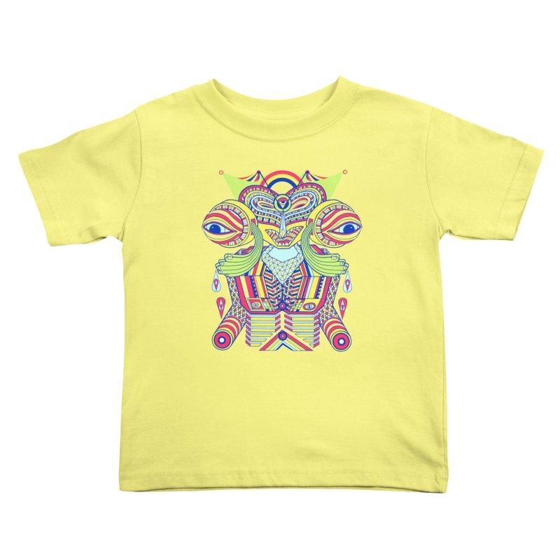 King me MAsk Kids Toddler T-Shirt by mrwalrusface's Artist Shop