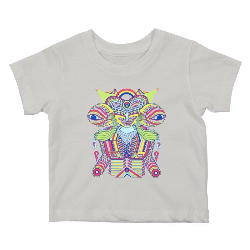 King me MAsk Kids Baby T-Shirt by mrwalrusface's Artist Shop