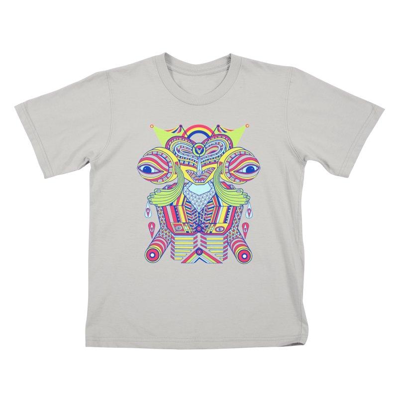 King me MAsk Kids T-Shirt by mrwalrusface's Artist Shop
