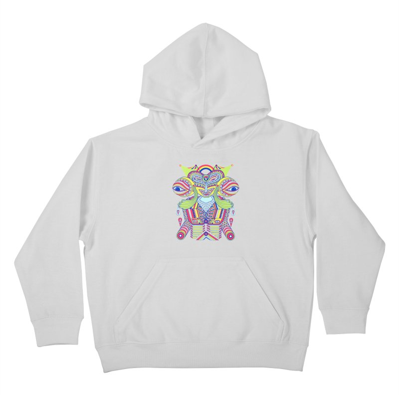 King me MAsk Kids Pullover Hoody by mrwalrusface's Artist Shop