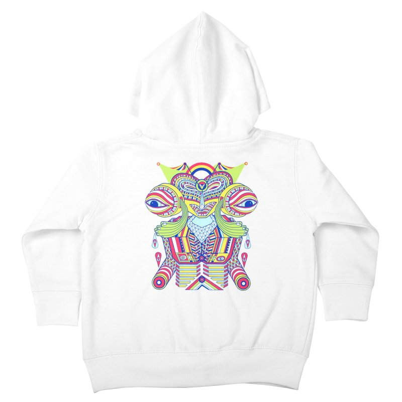 King me MAsk Kids Toddler Zip-Up Hoody by mrwalrusface's Artist Shop