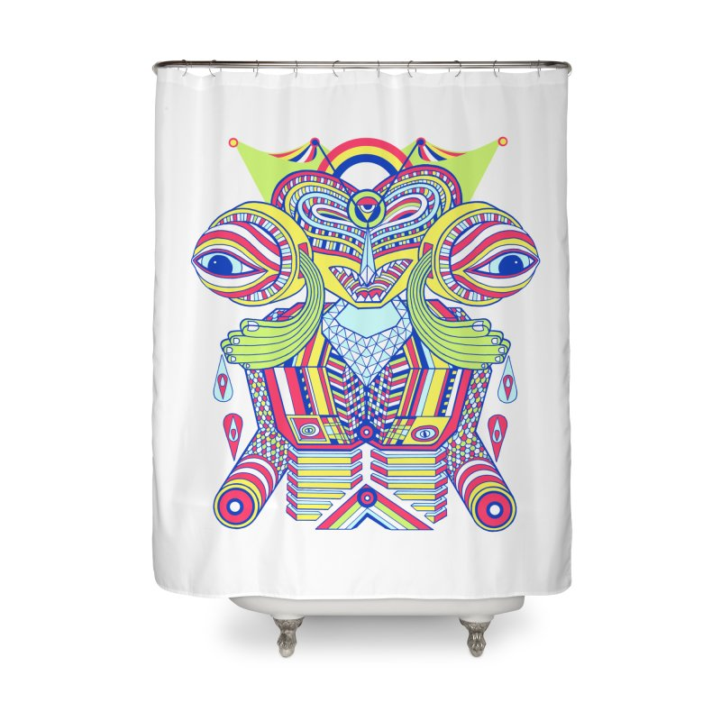 King me MAsk Home Shower Curtain by mrwalrusface's Artist Shop