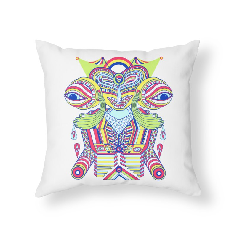 King me MAsk Home Throw Pillow by mrwalrusface's Artist Shop