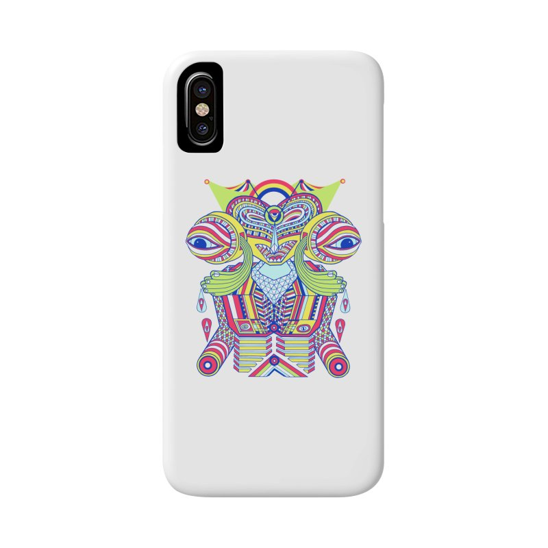 King me MAsk Accessories Phone Case by mrwalrusface's Artist Shop