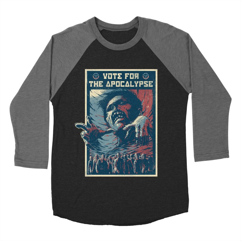 Vote for the apocalypse Women's Baseball Triblend T-Shirt by MrWayne