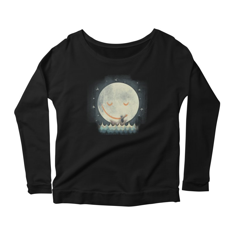 If I had a boat Women's Longsleeve Scoopneck  by MrWayne
