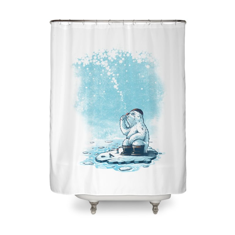 Where's my ol' country? Home Shower Curtain by MrWayne