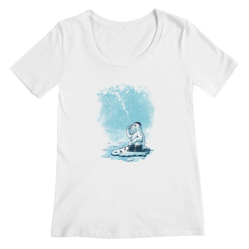 Where's my ol' country? Women's Scoopneck by MrWayne