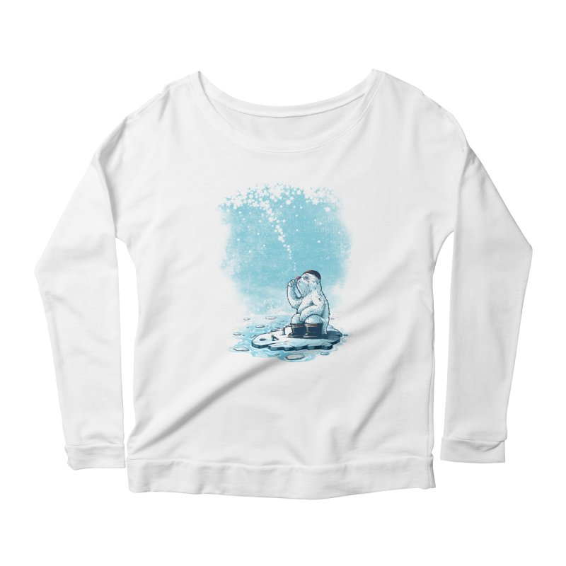 Where's my ol' country? Women's Longsleeve Scoopneck  by MrWayne